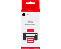 Pixeljet 26 XL (T2621)  Zwart voor Epson printers (C13T26214010)