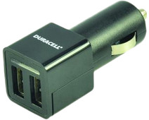 Duracell 4.8A Twin Car Charger