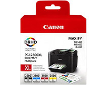 Canon PGI-2500XL Cartridges Combo Pack