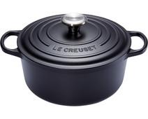 Le Creuset Round Dutch Oven 24cm Black
