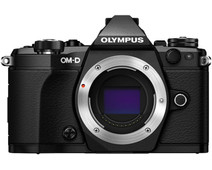 Olympus OM-D E-M5 mark II body zwart