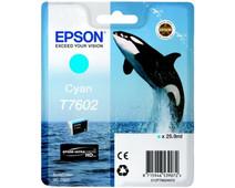 Epson T7602 Cartridge Cyaan