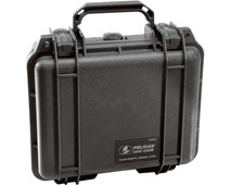 Pelicase 1200 Black with Pick 'n Pluck Foam