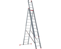 Altrex Atlantis 3-part reform ladder ATR 3077 3x12