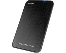 Sharkoon QuickStore Portable USB 3.1 2.5 inch Black