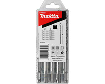 Makita 5-piece SDS-Plus drill set B-49052
