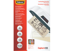 Fellowes Laminating Sheets ImageLast 125mic A3 (100 Units)