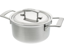 Demeyere Industry Pan with Lid 20cm
