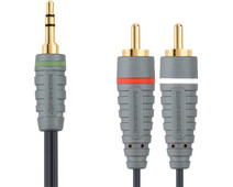 Bandridge 3.5mm to RCA Cable 2 Meters