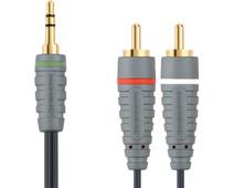 Bandridge 3,5 mm naar RCA Kabel 5 Meter