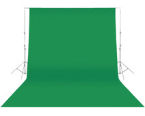 Konig Background Cloth Green 3 x 3 m