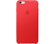 Apple iPhone 6s Plus Leather Case Red
