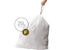 Simplehuman Vuilniszakken Code F - 25 Liter (60 stuks)