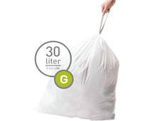 Simplehuman Trash Bags Code G - 30 Liters (60 units)