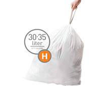 Simplehuman Trash Bags Code H - 30-35 Liters (60 units)