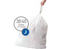 Simplehuman Afvalzakken Code J - 38-40 Liter (60 stuks)