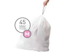 Simplehuman Afvalzakken Code M - 45 Liter (60 stuks)