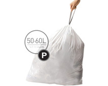 Simplehuman Afvalzakken Code P - 50-60 Liter (60 stuks)