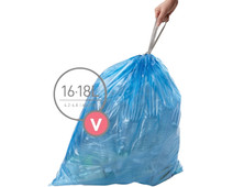 Simplehuman Waste bags Code V - 16-18 Liter (60 pieces)