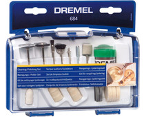 Dremel Set for cleaning / polishing (684)