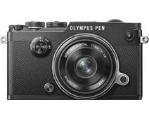 Olympus PEN-F Black + 17mm