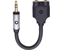 Oehlbach i-Jack 3.5 mm to 2 x 3.5 mm Cable