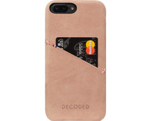 Decoded Leather Back Cover Apple iPhone 7 Plus Roze