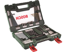 Bosch 83-piece Bit and Borenset with LED Flashlight