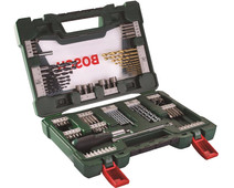 Bosch 91-piece Bit and Borenset with Screwdriver and Pen