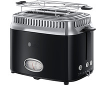 Russell Hobbs Retro Classic Black Toaster