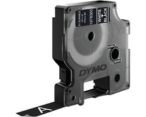 Dymo LW Durable D1 Label White-Black (12 mm x 3 m)