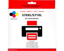 Pixeljet PGI-570/CLI-571XL Cartridges Combo Pack