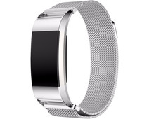 Just in Case Fitbit Charge 2 Milanese Watchband Silver
