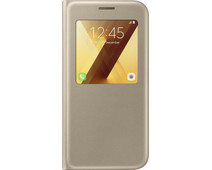 Samsung Galaxy A5 (2017) S View Stand Cover Gold