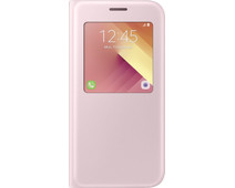 Samsung Galaxy A5 (2017) S View Stand Cover Pink