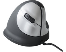 R-Go HE Vertical Ergonomic Mouse Medium Right Wired