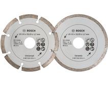 Bosch Diamond disc 115 mm 2 pieces