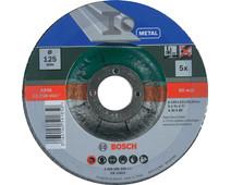 Bosch Slijpschijf Metaal 125 mm 5 stuks