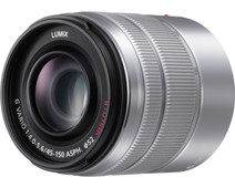 Panasonic Lumix G Vario 45-150mm f/4.0-5.6 ASPH. MEGA Silver