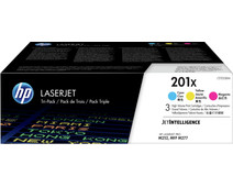 HP 201X Toner Cartridges Combo Pack (High Capacity)