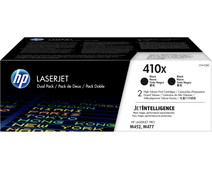 HP 410X Toner Black XL Duo Pack (CF410XD)