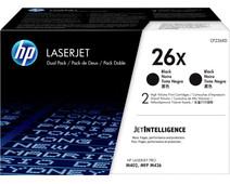 HP 26X Toner Zwart Duo Pack (Hoge Capaciteit)