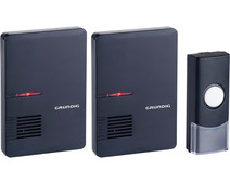 Grundig Wireless Doorbell 2 Wireless Receivers