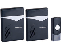 Grundig Wireless Doorbell 2 Receivers AC Power