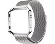Just in Case Milanese Watch Strap Fitbit Blaze Silver
