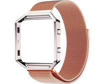 Just in Case Milanese Watch Strap Fitbit Blaze Rose Gold