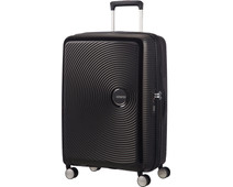 American Tourister Soundbox Expandable Spinner 67cm TSA Bass Black