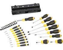 Stanley 47-piece screwdriver set