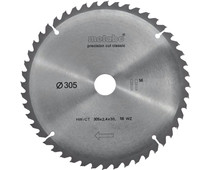 Metabo Zaagblad Precision Cut 305x30x2.4mm 56T