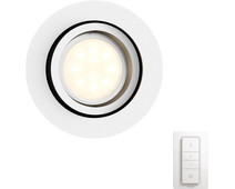 Philips Hue Milliskin Round White Including Dimmer Switch